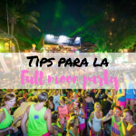 Estrategias para sobrevivir a la Full Moon party